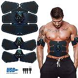 Electroestimulador Muscular, Abdominales Cinturón, Estimulador Muscular Abdominales,...