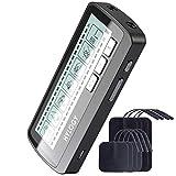 TENS Electroestimulador Muscular, HYLOGY Dos Canales de Masaje EMS TENS Con 8 Electrodos,...